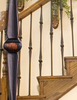 Gothic Hammered Iron Balusters