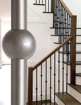 Designer Round Iron Balusters