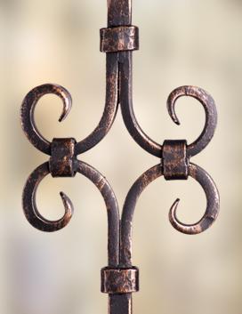 Designer Square Iron Balusters