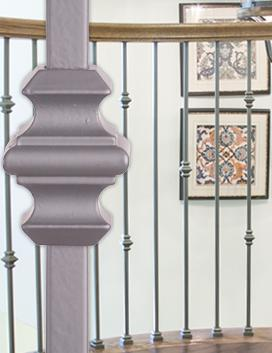 Versatile Contemporary Hollow Iron Balusters