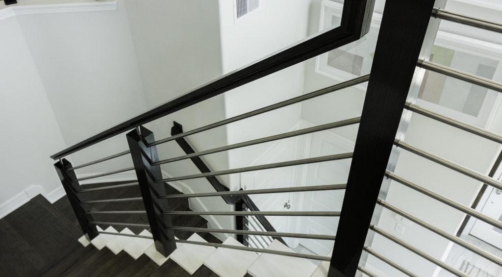 Horizontal Bar - Hollow Iron Balusters