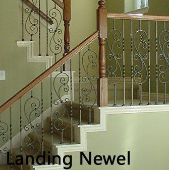 Landing Newel Posts