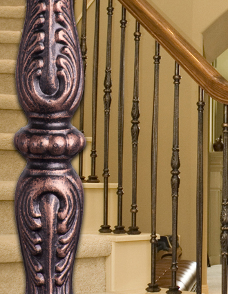 Monte Carlo Iron Balusters