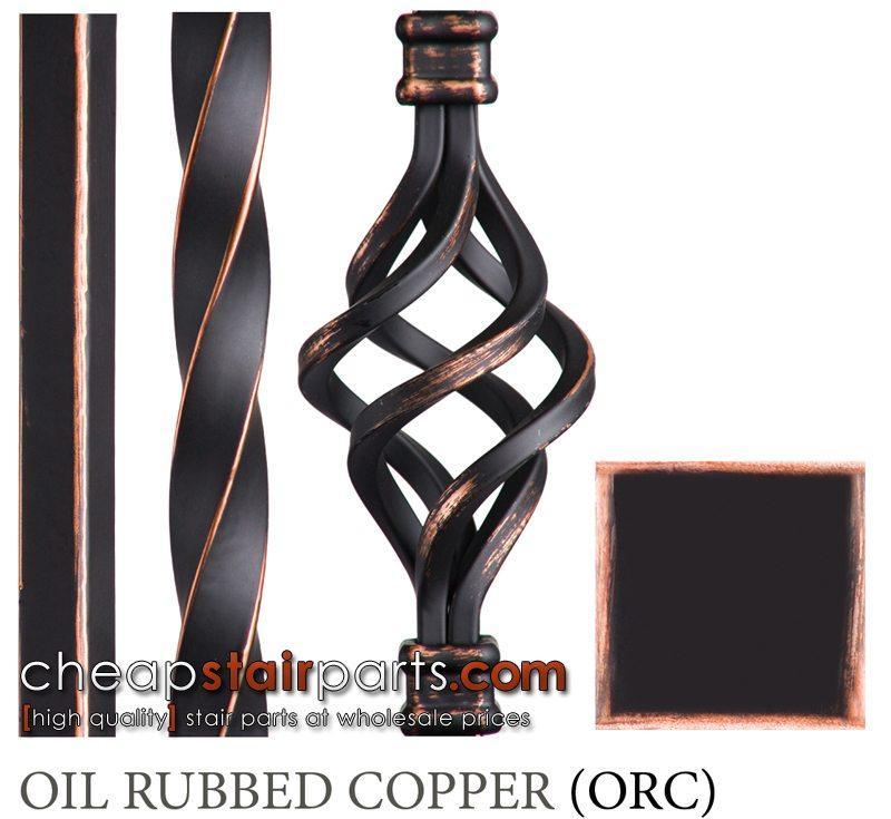 Oil Rubbed Copper Faux Finish