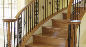 Scroll Designs Iron Balusters