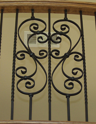 Scroll Iron Balusters