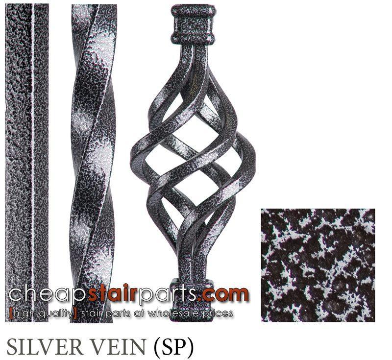 Silver Vein Powder Coat