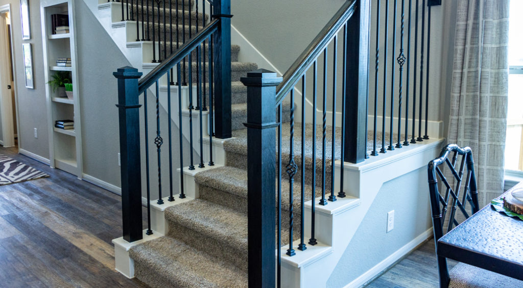 Twist and Basket Hollow Iron Balusters