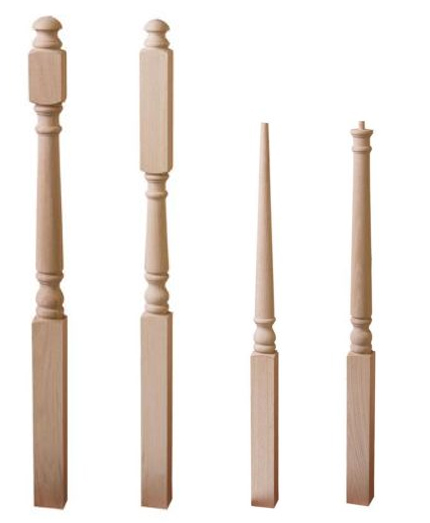Different Types of Newel Posts
